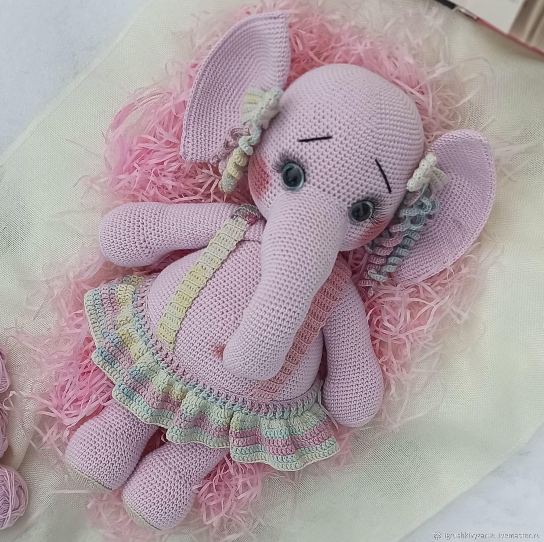 Knitted toys-elephant, Stuffed Toys, Bondari,  Фото №1