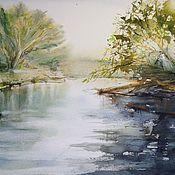 Картины и панно handmade. Livemaster - original item Watercolour painting