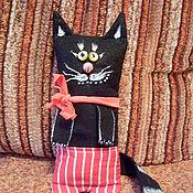 """Куклы и игрушки ручной работы. Ярмарка Мастеров - ручная работа Игрушка текстильная """" Кот Черныш"""". Handmade."""