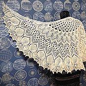Шали ручной работы. Ярмарка Мастеров - ручная работа Шаль Шотландский чертополох. Handmade.