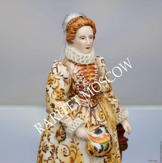 Винтажные предметы интерьера. Ярмарка Мастеров - ручная работа. Купить РЕДКОСТЬ Королева Елизавета 1 Англия 7. Handmade. Разноцветный