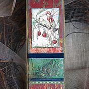 """Канцелярские товары ручной работы. Ярмарка Мастеров - ручная работа Закладка из коллекции """"Мир маленьких фей""""(№10). Handmade."""