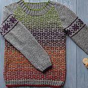 Одежда ручной работы. Ярмарка Мастеров - ручная работа Вязаный свитер Мягче, ручной вязки. Handmade.