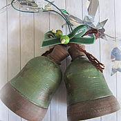 Подарки к праздникам ручной работы. Ярмарка Мастеров - ручная работа Колокольчики Винтаж. Handmade.