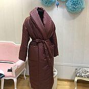 Одежда ручной работы. Ярмарка Мастеров - ручная работа Пальто одеяло «пуховик». Handmade.