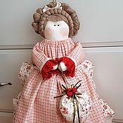 Для дома и интерьера ручной работы. Ярмарка Мастеров - ручная работа куколка -пакетница. Handmade.