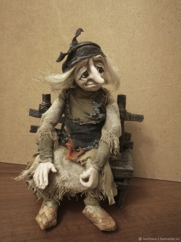 Яга отдыхает  (Заказать, Портретная кукла, Санкт-Петербург,  Фото №1