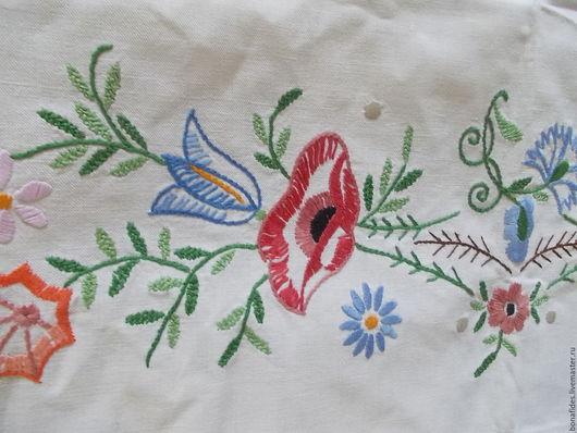 """Текстиль, ковры ручной работы. Ярмарка Мастеров - ручная работа. Купить """" Полевые цветы"""". Handmade. Комбинированный, хлопок 100%"""