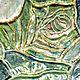 """Декоративная посуда ручной работы. блюдо """"Китай"""". Kseniya Polozova. Интернет-магазин Ярмарка Мастеров. Бирюзовый, глина, блюдо, китай"""