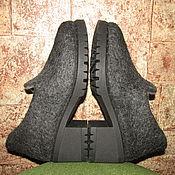 Обувь ручной работы. Ярмарка Мастеров - ручная работа Лоферы валяные. Handmade.