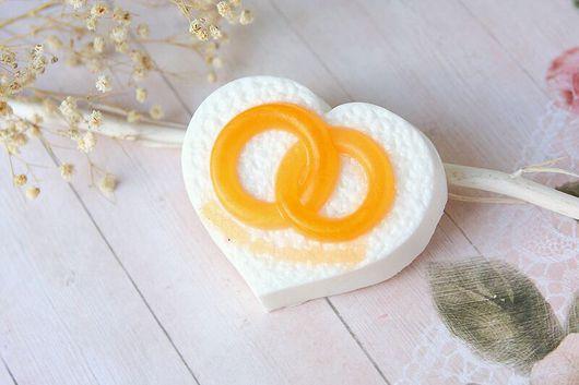 """Мыло ручной работы. Ярмарка Мастеров - ручная работа. Купить Мыло ручной работы """"Обручальные кольца"""". Handmade. Свадьба, сувенир"""