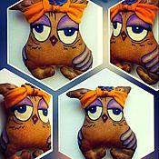 Куклы и игрушки ручной работы. Ярмарка Мастеров - ручная работа Совушка Надюша (чердачная игрушка). Handmade.
