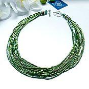 Украшения handmade. Livemaster - original item Hematite necklace