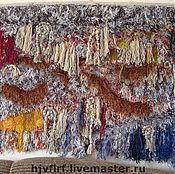 """Для дома и интерьера ручной работы. Ярмарка Мастеров - ручная работа Ковер-панно """"Коралловые острова"""". Handmade."""