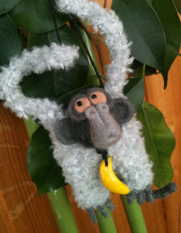 Monkey - New year symbol, Stuffed Toys, Moscow,  Фото №1