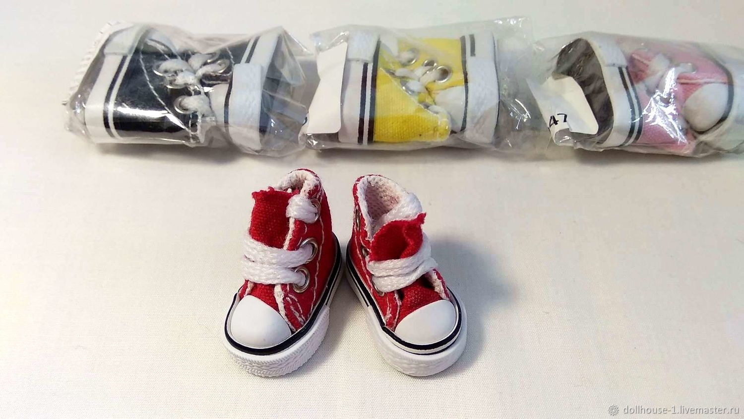 Sneakers for dolls, Clothes for dolls, Moscow,  Фото №1