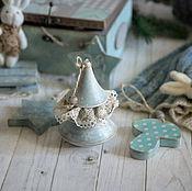 Сувениры и подарки handmade. Livemaster - original item Set of Christmas decorations Scandi. Decoupage. Handmade.