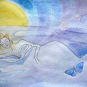 Картины и панно ручной работы. Ярмарка Мастеров - ручная работа Цветные сны.... Handmade.