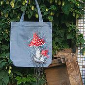 Сумки и аксессуары handmade. Livemaster - original item Shopping bag Fly Agaric. Handmade.