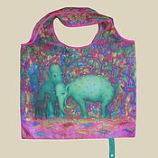 Сумки и аксессуары handmade. Livemaster - original item Eco bag to buy without intermediaries, on the Internet what bag to buy. Handmade.