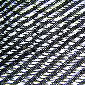 Материалы для творчества ручной работы. Ярмарка Мастеров - ручная работа Драп шерсть 87% в рубчик по косой  черно-белый. Handmade.