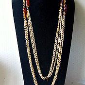 Винтаж handmade. Livemaster - original item Fashion Melody necklace by Sarah Coventry. Handmade.