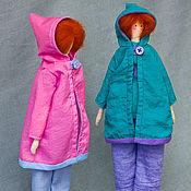 Куклы и игрушки ручной работы. Ярмарка Мастеров - ручная работа Кукла Тильда Лисички-сестрички. Handmade.