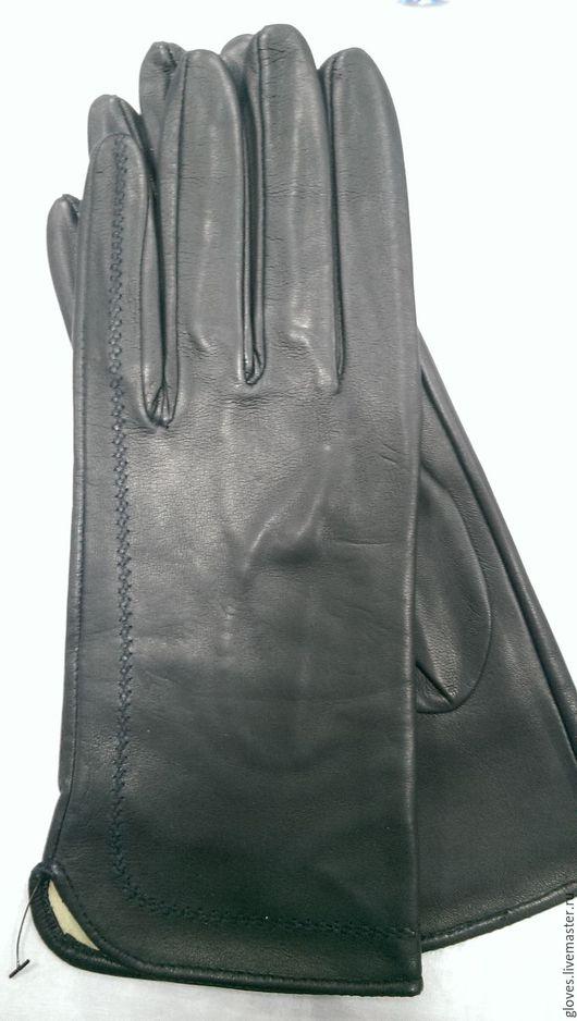 Варежки, митенки, перчатки ручной работы. Ярмарка Мастеров - ручная работа. Купить Перчатки женские кожаные на шелковой подкладке. Handmade.