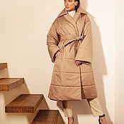 Одежда handmade. Livemaster - original item Women`s coat heat-insulated. Handmade.