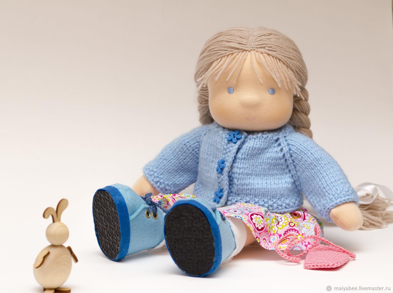 Textile doll for Natalia, 31-33 cm, Waldorf Dolls & Animals, Moscow,  Фото №1