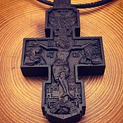 Украшения handmade. Livemaster - original item Rosewood cross. Handmade.