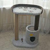 """Для домашних животных, ручной работы. Ярмарка Мастеров - ручная работа Домик для кошки """" Стивен"""". Handmade."""