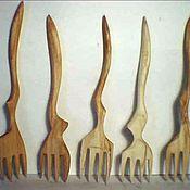 Посуда ручной работы. Ярмарка Мастеров - ручная работа вилочка. Handmade.