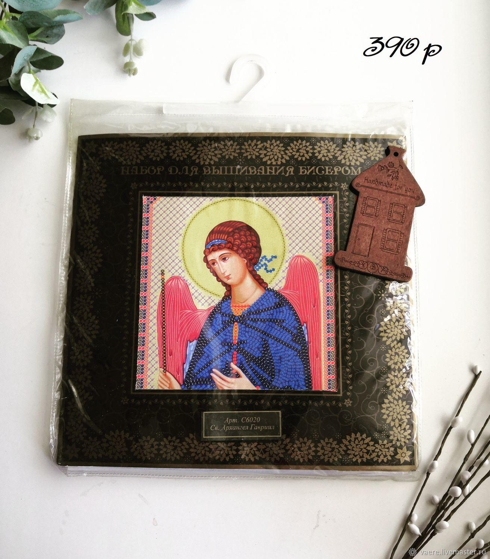 Набор для вышивания Nova Sloboda Архангел Гавриил, Схемы для вышивки, Тула,  Фото №1