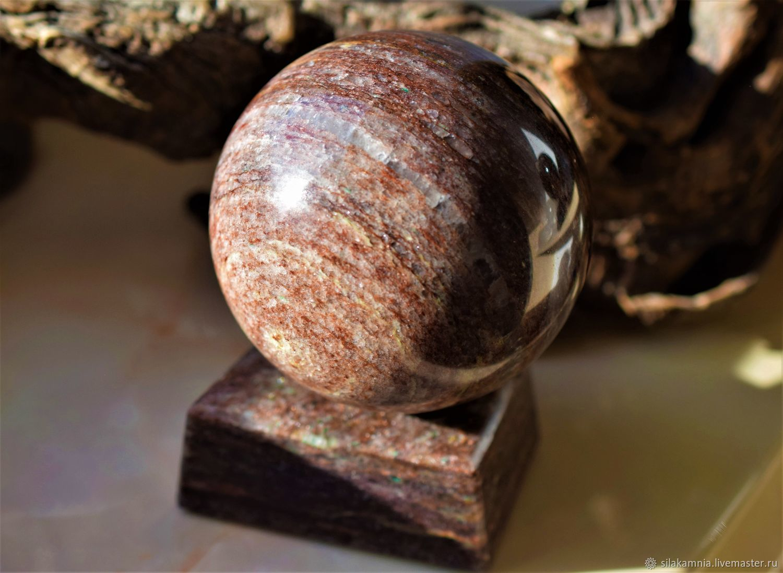 Aventurine ball 86 mm, Ball, Odessa,  Фото №1