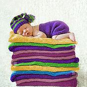 Сувениры и подарки ручной работы. Ярмарка Мастеров - ручная работа Фиолетовый комплект. Handmade.