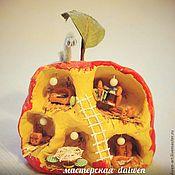 Куклы и игрушки ручной работы. Ярмарка Мастеров - ручная работа Яблочный домик. Handmade.