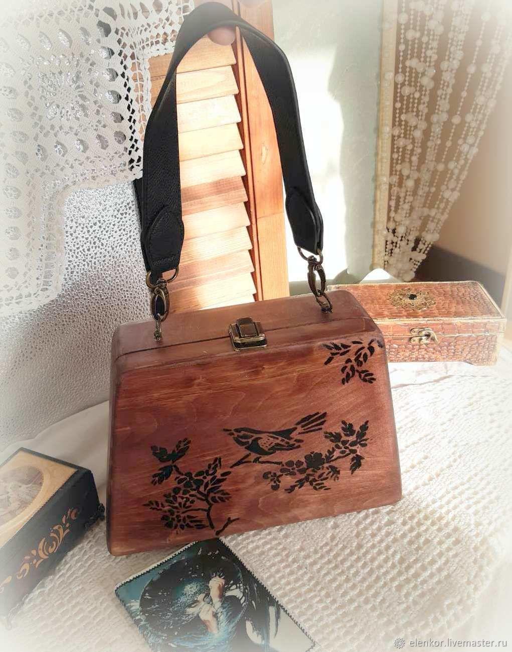 Сумка деревянная, Классическая сумка, Нефтекамск,  Фото №1