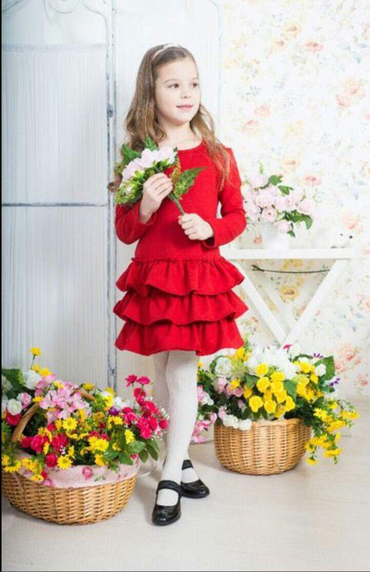 Одежда для девочек, ручной работы. Ярмарка Мастеров - ручная работа. Купить Платье для девочки. Handmade. Костюм для девочки, голубой