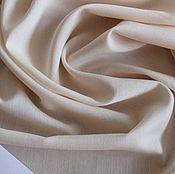 Материалы для творчества ручной работы. Ярмарка Мастеров - ручная работа Плательно-блузочный вискозный крепдешин стрейч цвет светло-персиковый. Handmade.