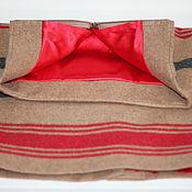 Одежда ручной работы. Ярмарка Мастеров - ручная работа Юбка женская теплая на шелковом подкладе. Handmade.