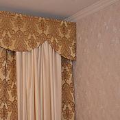 Для дома и интерьера ручной работы. Ярмарка Мастеров - ручная работа Шторы и покрывало в спальню. Handmade.