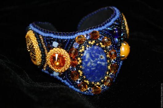 """Браслеты ручной работы. Ярмарка Мастеров - ручная работа. Купить Браслет """"Вечерняя сказка"""". Handmade. Комбинированный, браслет из камней"""