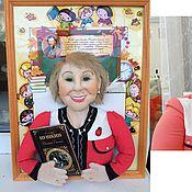 Куклы и игрушки ручной работы. Ярмарка Мастеров - ручная работа Подарок учителю Портретная кукла. Handmade.
