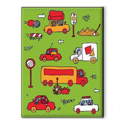 Covers handmade. Livemaster - handmade. Buy Cover for avtodokumentov 'Traffic'.Machine, cover for avtodokumentov, souvenirs and gifts