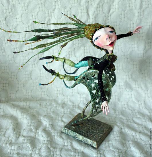 Коллекционные куклы ручной работы. Ярмарка Мастеров - ручная работа. Купить Я лечу. Handmade. Я, лечу, папье-маше