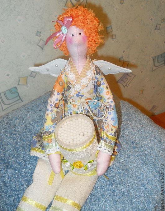 Куклы Тильды ручной работы. Ярмарка Мастеров - ручная работа. Купить Банная фея Нюрочка. Тильда. Handmade. Тильда, лён