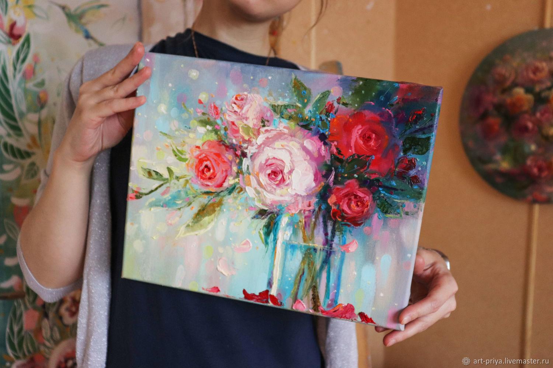Харизматичная цветочность, Картины, Минск,  Фото №1