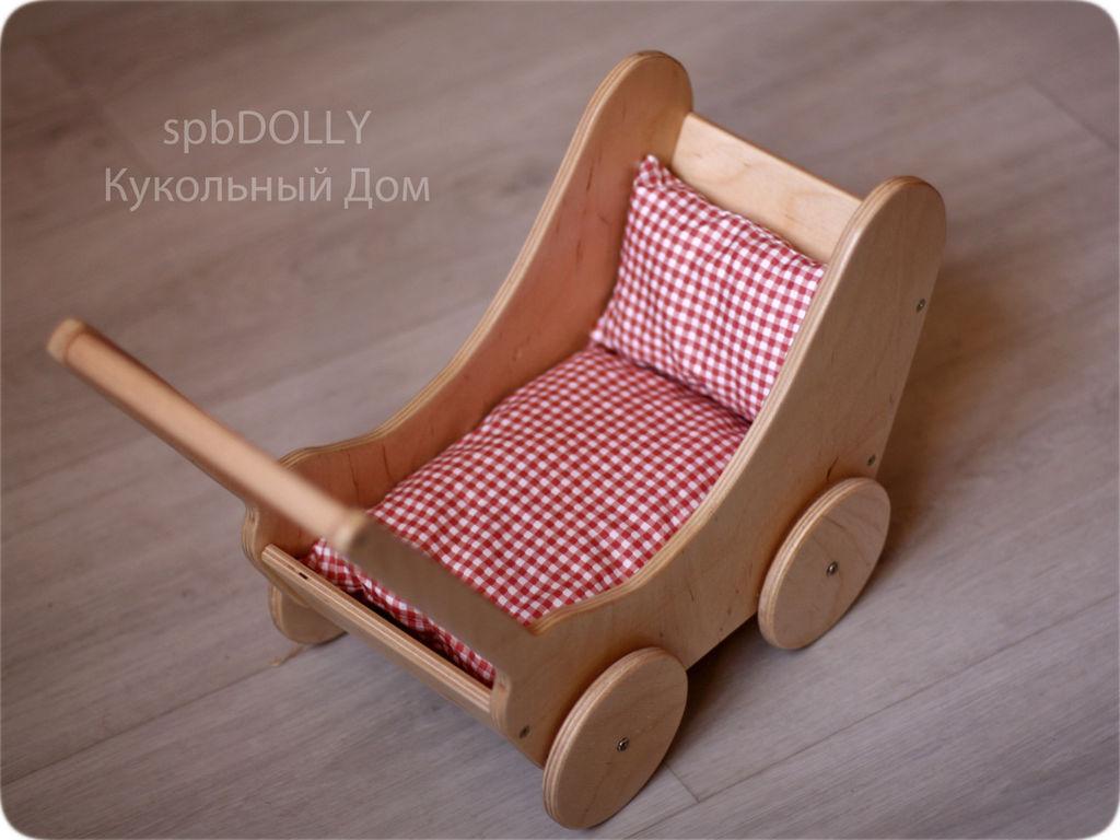 Своими руками игрушечную коляску
