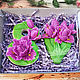 Order soap: ' Eight and irises ' gift set flowers on March 8. Edenicsoap - soap candles sachets. Livemaster. . Soap Фото №3
